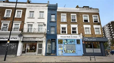 'Thinnest House In London' Up For Sale For Just Under £1m