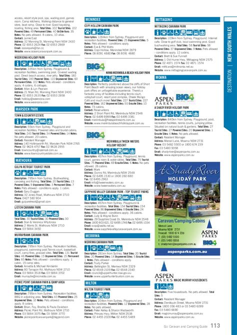 Go Caravan and Camping Guide 2012 by Vink Publishing - Issuu