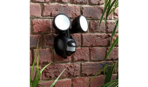 Buy Coast Twin PIR Battery Operated Outdoor Wall Light