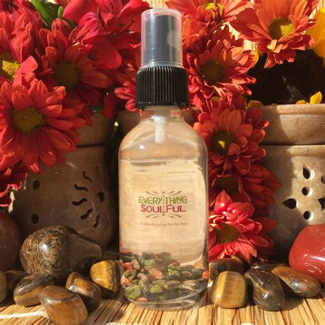 CLEANSING Smudge Spritzer Infused with Unakite