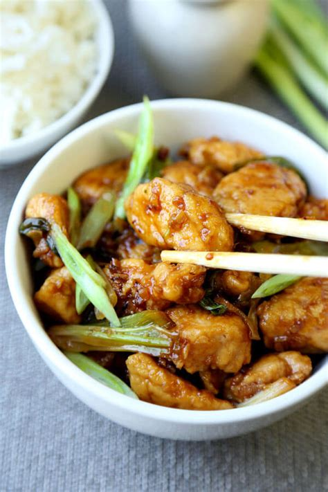 Mongolian Chicken Recipe - Pickled Plum Food And Drinks