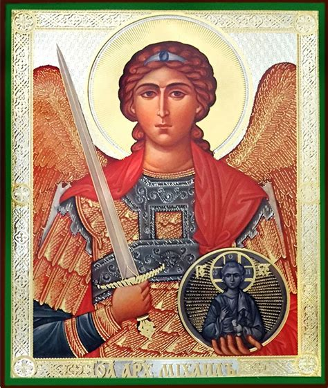Archangel Michael, Orthodox Christian Icon - at Holy
