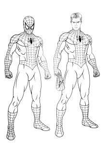 Spiderman - Free printable Coloring pages for kids