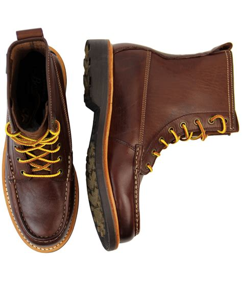 BASS WEEJUNS Quail Hunter Retro Moccasin Hunting Boots in