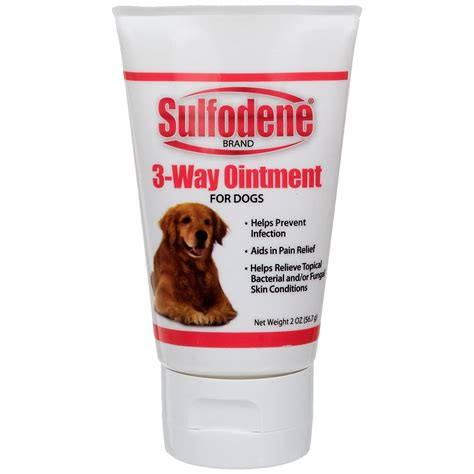Sulfodene 3-Way Ointment for Dogs   Petco