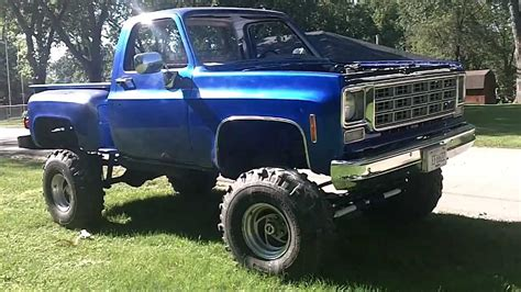 1978 chevy truck 4x4 stepside thank you pete!! swrnc mud