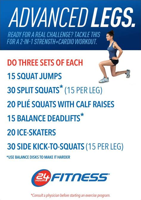 1000+ images about Workout Routines on Pinterest   Leg