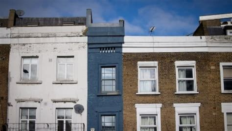 London's 'thinnest' house, measuring only 5 feet 6 inches