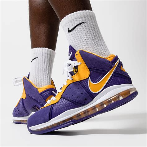 Nike LeBron 8 Lakers DC8380-500 Release Date | SneakerNews
