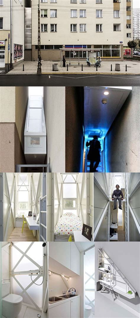 Inside the World's Narrowest House Squeezed Between Two