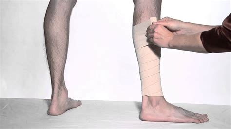 How To Wrap Leg with ACE™ Brand Elastic Bandages - YouTube