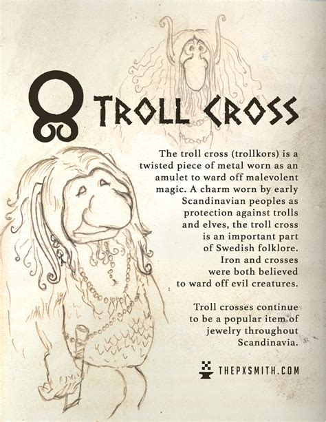 The Pixel Smith — The troll cross (trollkors) is a twisted