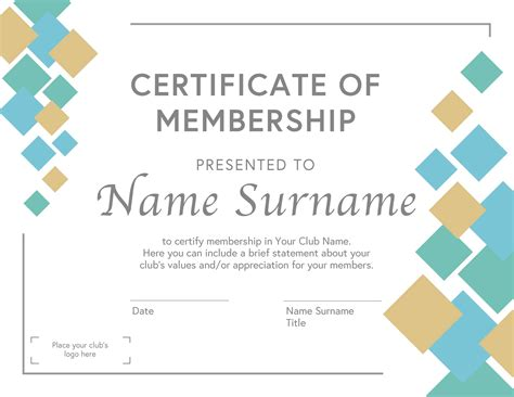 13 Membership Certificate Templates for Any Occasion (Free