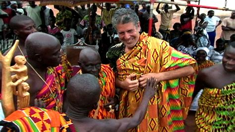 Watch Anthony Bourdain experiencing food and culture in