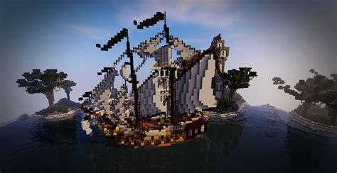 Minecraft, Ship, Video games Wallpapers HD / Desktop and