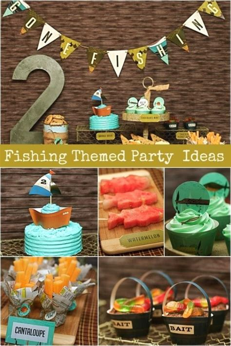New – Vintage Fishing Party – Dessert Table | Spaceships