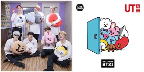 BTS' BT21 Characters and UNIQLO Collaboration! - Annyeong Oppa