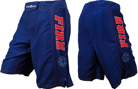 Clinch Gear Tactical Fight Shorts (Marines, Navy, Police