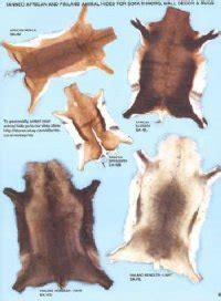 tanned hides for sale - real animal skins and animal hides
