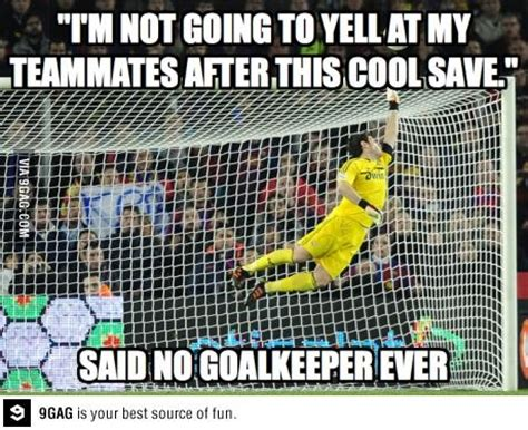 Funny Soccer Goalie Quotes