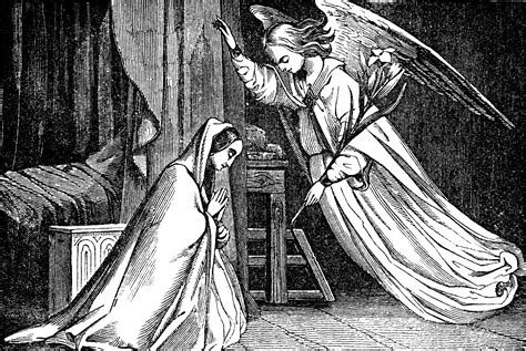 The Annunciation, Gabriel Appears to Mary   ClipArt ETC
