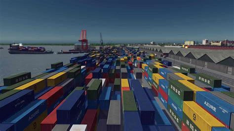 [Building] Large container stacks - Pack 2 Mod for Cities