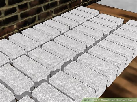 How to Make Foam Concrete Blocks: 11 Steps (with Pictures)