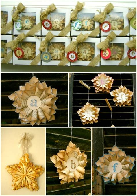 20 Hopelessly Adorable DIY Christmas Ornaments Made from