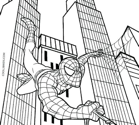 Spiderman Homecoming Coloring Pages at GetColorings