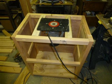 Router table build - Woodworking Talk - Woodworkers Forum