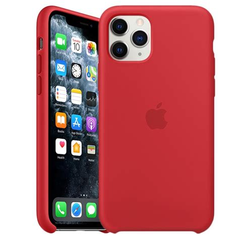 iPhone 11 Pro Apple Silicone Case MWYH2ZM/A - Red