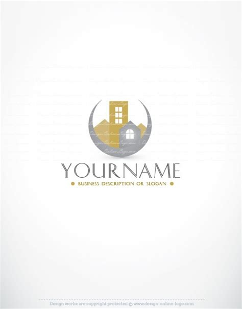 Realty Logo templates + FREE Business Card