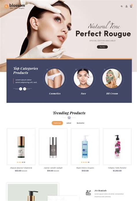 30 Best Beauty Store OpenCart Themes and Templates 2020