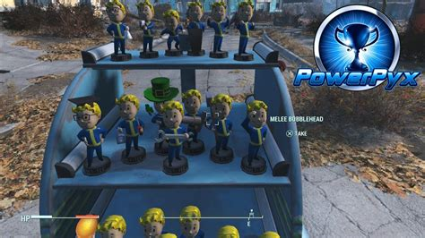 Fallout 4 - All Bobblehead Locations (They're Action