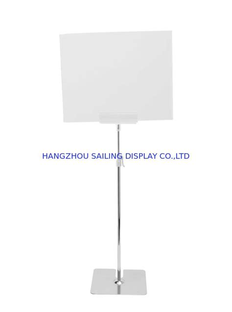Free Standing POS Sign Holder For A3 Or A4 Floor Sign