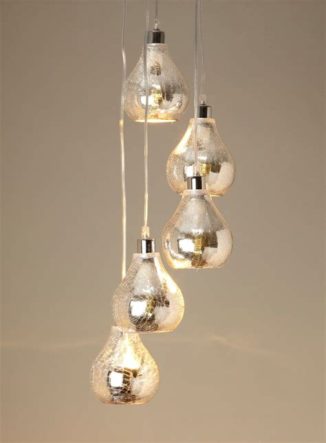 Sabrina Mirrored Cluster Pendant - ceiling lights - Home