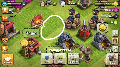 Clash Of Clans Written Muhammad SAW Name On Army Camp