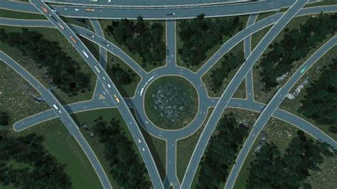 """Highway Crossing """"The Inner Circle"""" Mod for Cities"""