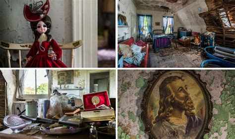 WHAT happened in this abandoned house? EERIE images reveal