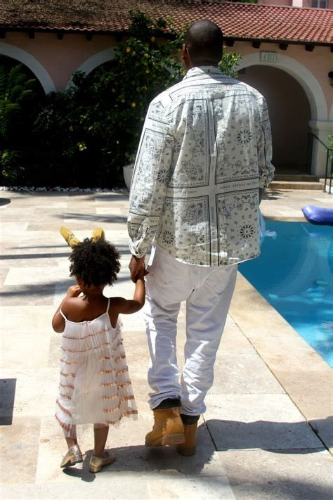 Beyoncé & Blue Ivy's Matchy Look for Easter Sunday