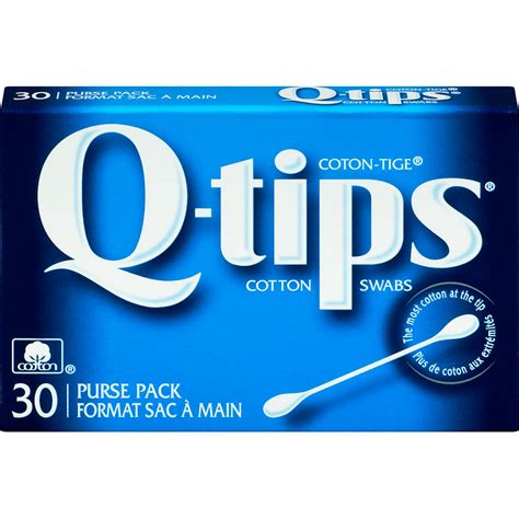 Q-Tips Cotton Swabs - Travel Pack - 30 | London Drugs