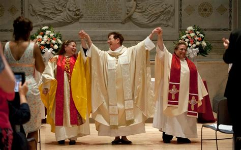 For women priests, a moment of justice – and