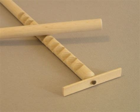 Hooey Stick, Gee Haw, Whimmy Diddle, with NATURAL wood