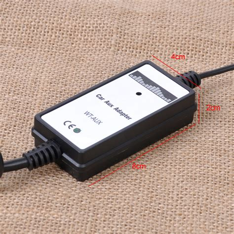 Car Music CD Interface Adapter Audio 3 2mm Aux Input for