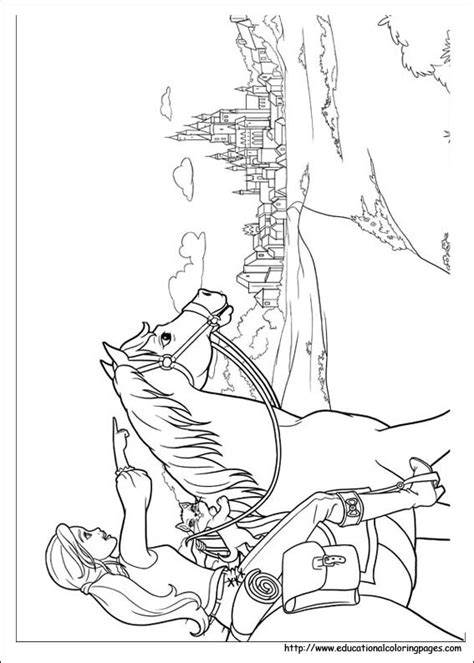Barbie and 3 Musketeers Coloring Pages - Educational Fun